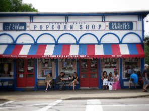 Chagrin Falls Popcorn Shop - Chagrin Falls Ohio - by Anika Mikkelson - Miss Maps - www.MissMaps.com