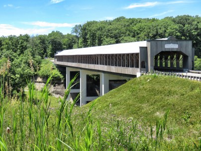 Covered Bridges of Ohio - Stop 1 - by Anika Mikkelson - Miss Maps - www.MissMaps.com