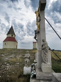Cross and Church on Nitra's Highest Point - Nitra Slovakia - by Anika Mikkelson - Miss Maps - www.MissMaps.com