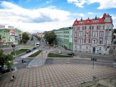 A View to Downtown and Ginzburg House - Bialystok Poland - by Anika Mikkelson - Miss Maps - www.MissMaps.com