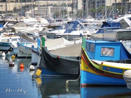 Boats of Msida Yacht Marina - Malta - by Anika Mikkelson - Miss Maps - www.MissMaps.com