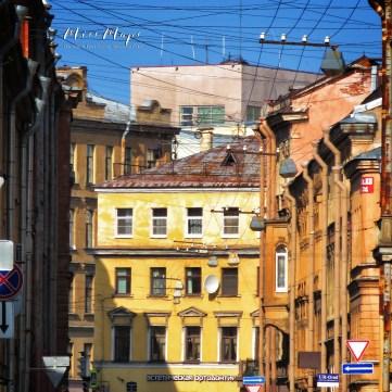 Buildings of St Petersburg - St Petersburg Russia - by Anika Mikkelson - Miss Maps - www.MissMaps.com