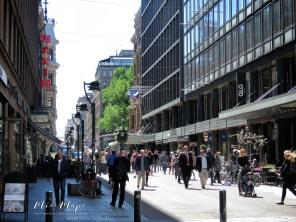 Downtown - Helsinki Finland - by Anika Mikkelson - Miss Maps - www.MissMaps.com