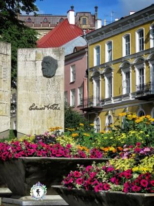 Eduard Wilde Garden in Old Town - Tallinn Estonia - by Anika Mikkelson - Miss Maps - www.MissMaps.com