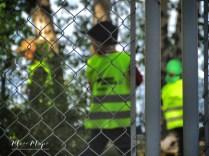 Helsinki Scavenger Hunt: Children Playing in Neon Green Vests - Helsinki Finland - by Anika Mikkelson - Miss Maps - www.MissMaps.com