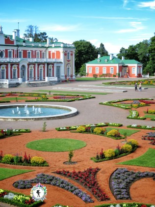 House of Peter the Great Garden - Tallinn Estonia - by Anika Mikkelson - Miss Maps - www.MissMaps.com