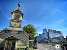 Immanuel Pentecostal Parish - In a Unique Location - Tallinn Estonia - by Anika Mikkelson - Miss Maps - www.MissMaps.com