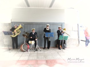 Our Welcome Band at the Ship - St Petersburg Russia - by Anika Mikkelson - Miss Maps - www.MissMaps.com