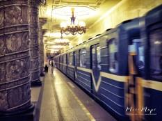 Stunning Underground - St Petersburg Russia - by Anika Mikkelson - Miss Maps - www.MissMaps.com