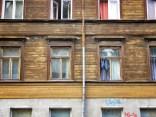 Windows of Riga Latvia 1 - by Anika Mikkelson - Miss Maps - www.MissMaps.com
