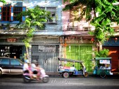 Colorful Streets - Bangkok Thailand - by Anika Mikkelson - Miss Maps - www.MissMaps.com