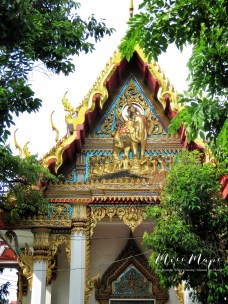 Temples of Bangkok Thailand - by Anika Mikkelson - Miss Maps - www.MissMaps.com