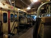 The Bus at Night - Bangkok Thailand - by Anika Mikkelson - Miss Maps - www.MissMaps.com