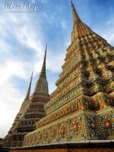 Wat Pho Complex - Bangkok Thailand - by Anika Mikkelson - Miss Maps - www.MissMaps.com