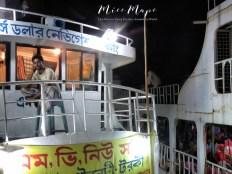 Waiting for Goodbye - Rocket Steamers - Dhaka to Sundarbans Bangladesh - by Anika Mikkelson - Miss Maps - www.MissMaps.com