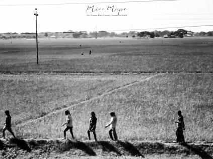 Walking Through Rural Bangladesh - by Anika Mikkelson - Miss Maps - www.MissMaps.com