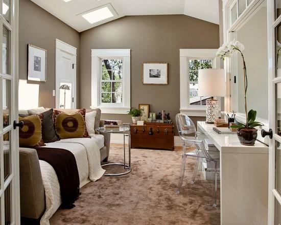 neutral office decor. Neutral Office Decor. Guest Bedroom Home Beautiful Homes Design Decor X T