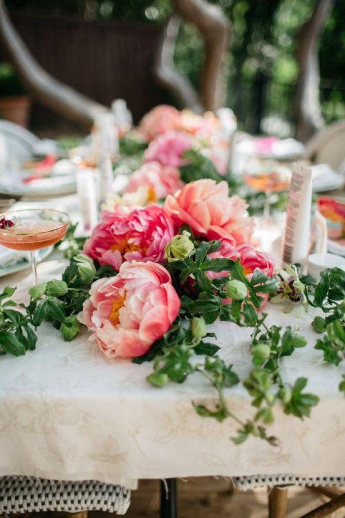 Pretty table setting