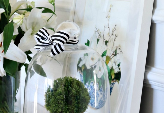 Three Simple Decorating Ideas For A Cloche