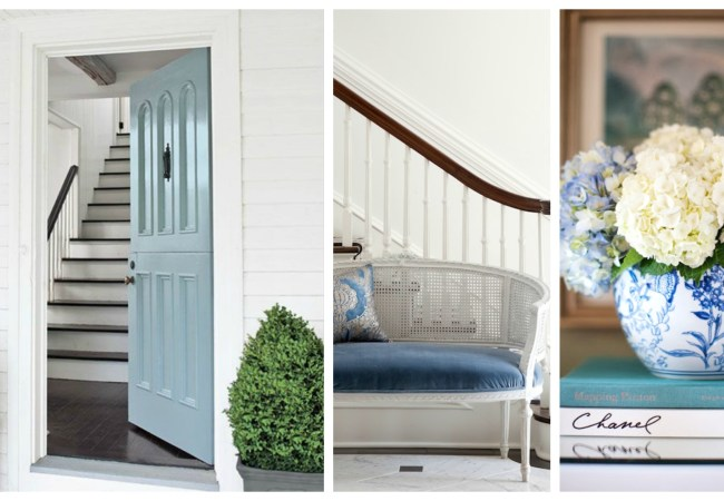 How To Style A Gorgeous Home Entrance