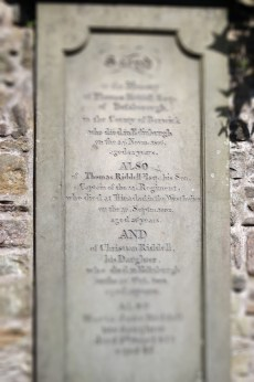 Tom Riddle's grave