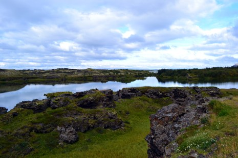 One last stop at Myvatn lake
