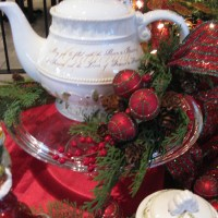 """In Loving Memory, """"A Christmas Tea of Comfort and Joy"""""""