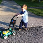 What toddlers learn from taking walks with their parents