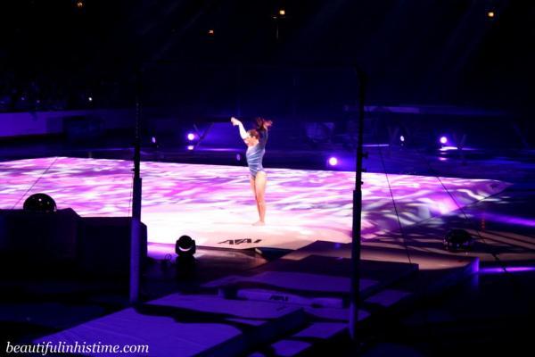 Kellogg's Tour of Gymnastics Champions Jordyn Wieber Floor