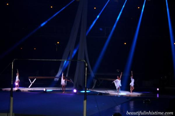 Kellogg's Tour of Gymnastics Champions Fierce Five on Beam