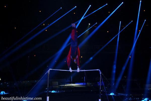 Kellogg's Tour of Gymnastics Champions High Bar