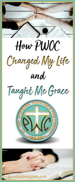 Embracing Grace: My PWOC Story | How Protestant Women of the Chapel changed my life, taught me grace, and renewed my faith | Christian Military Wives