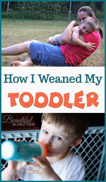 Weaning: how I weaned my toddler from breastfeeding at age 2 1/2