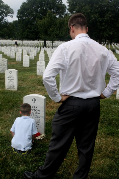 Ezra Dawson, Fallen Hero: Honoring our son's namesake on Memorial Day