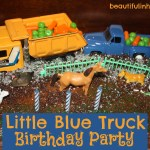 Ezra's Little Blue Truck 3rd Birthday Party