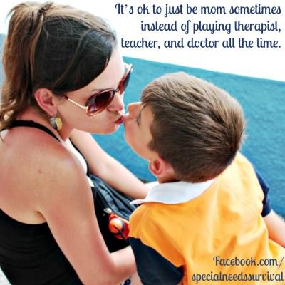 Special needs mom encouragement
