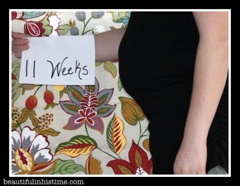 11 Week Bumpdate