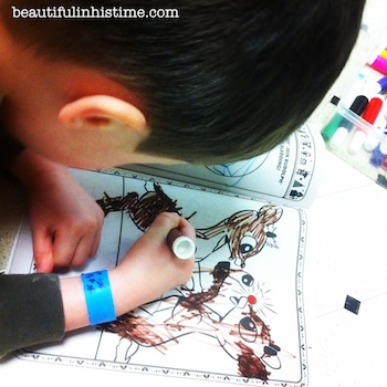 15 little boy coloring