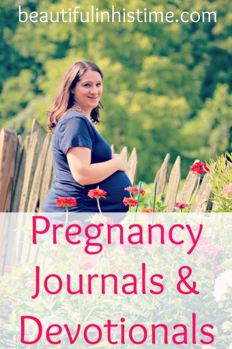 pregnancy journals and devotionals