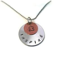"""Inspire"" Autism Awareness necklace"