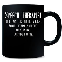 honest mug for your favorite speech therapist