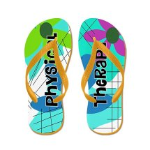 """Physical Therapy"" Flip Flops"
