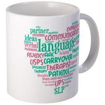 SLP Word Cloud Mug
