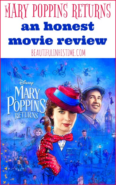 Practically perfect in every way? A Mary Poppins Returns review   If you can accept that this is a different movie, with a different plot, that occurs at a different time, and happens in the Mary Poppins London world, I think you can enjoy this film, and Emily Blunt can still hit an inside-the-park home run.