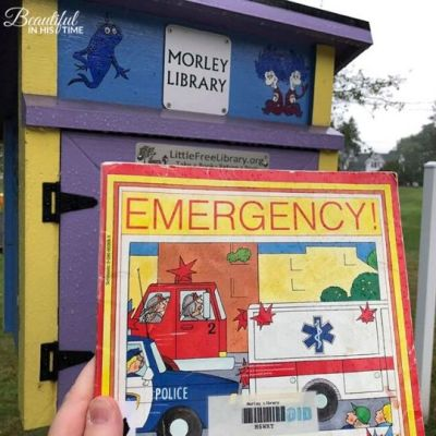 This Little Free Library is run by the Ohio library I visited as a child!