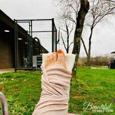 Broken Leg Recovery