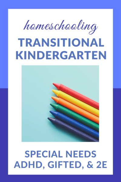 Transitional Kindergarten: Homeschooling Our Little Enigma | While homeschooling Little Brother is sometimes confusing and frustrating, it's also very exciting. I'm looking forward to enjoying this transitional kindergarten year! #ADHD #gifted #2E #homeschooling #specialneeds #preschool #kindergarten