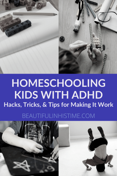"""ADHD Homeschooling: Hacks, Tricks, and Tips for Making It Work 