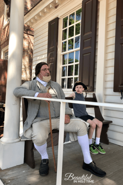 Colonial Williamsburg Patrick Henry Raleigh Tavern