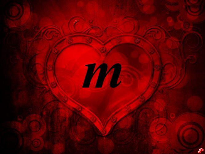 صور عن حرف M احدث و اجمل الصور لحرف M قلوب فتيات